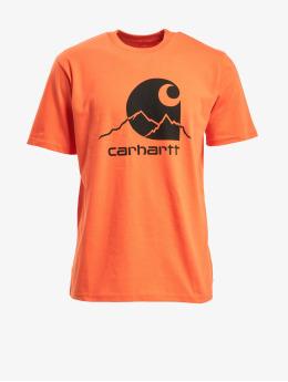 Carhartt WIP T-skjorter Outdoor C  oransje