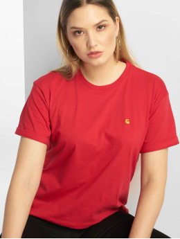 Carhartt WIP T-skjorter Chase  red