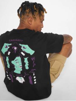 Carhartt WIP T-skjorter Wip Horror svart