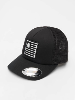 Carhartt WIP Trucker Cap State Patch black