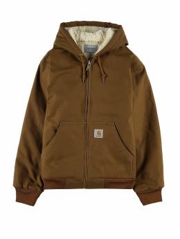 Carhartt WIP Winter Jacket Active Pile brown