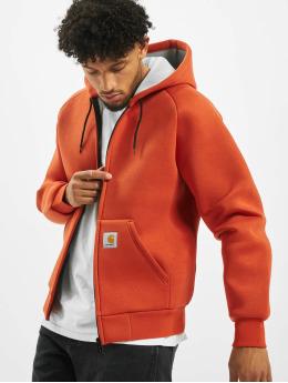 Carhartt WIP Zip Hoodie Car-Lux orange