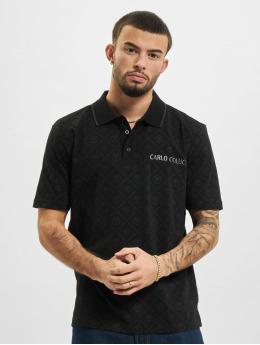Carlo Colucci Poloshirt Polo  black