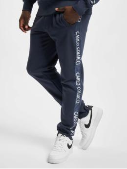 Carlo Colucci Sweat Pant Tape  blue