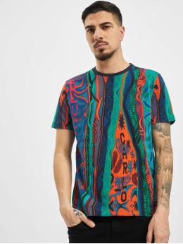 Carlo Colucci T-shirt Retro blu