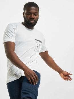 Carlo Colucci t-shirt Pocket  wit