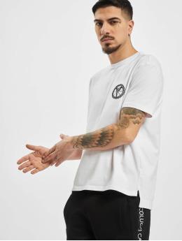 Carlo Colucci T-Shirty Logo bialy