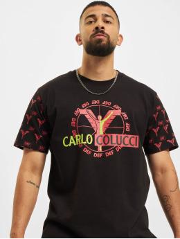 Carlo Colucci x DEF T-Shirt Logo  black