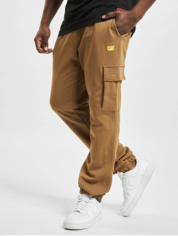 Caterpillar Spodnie Chino/Cargo Sweat brazowy