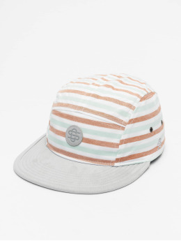 Cayler & Sons 5 Panel Caps CL Inside Printed Stripes 5 Panel hvit