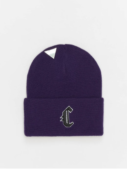 Cayler & Sons Beanie Blackletter Old Schol paars