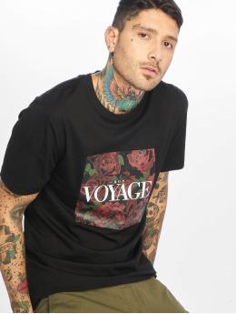 Cayler & Sons Camiseta Bon Voyage negro