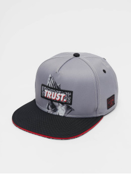 Cayler & Sons Casquette Snapback & Strapback WI Jay Trus gris