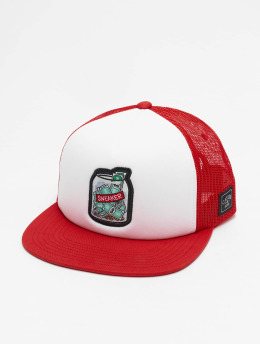 Cayler & Sons Casquette Trucker mesh WL Savings rouge