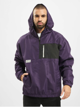 Cayler & Sons Lightweight Jacket Form Half Zip purple