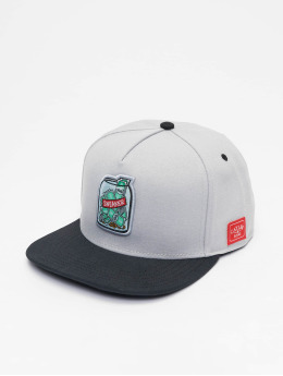 Cayler & Sons Snapback Cap Wl Savings grau