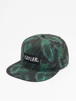 Cayler & Sons Snapback Cap Green Jungle schwarz