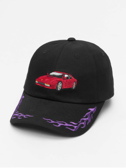 Cayler & Sons Snapback Cap WL Ride Or Fly Curved schwarz