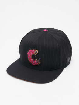 Cayler & Sons Snapback Caps  WL Los Munchos Pinstripe čern