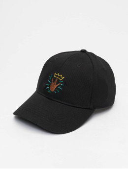 Cayler & Sons Snapback Caps Wl King Lines Curved musta