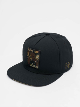 Cayler & Sons Snapback Caps WI 2pac Rollin musta