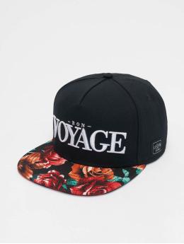 Cayler & Sons Snapback Caps Bon Voyage musta