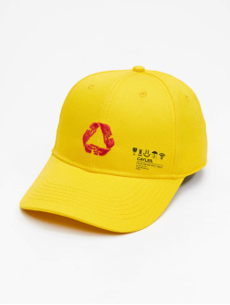 Cayler & Sons Snapback Caps Iconic Peace Curved Cap zólty