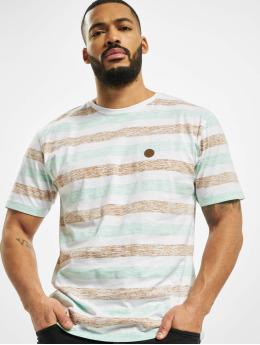 Cayler & Sons T-paidat WL Inside Printed Stripes valkoinen
