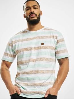 Cayler & Sons T-Shirt WL Inside Printed Stripes weiß