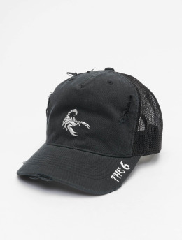 Cayler & Sons Trucker Cap WL The Six Curved black