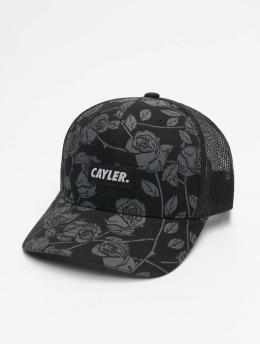 Cayler & Sons Trucker Caps Statement Black Roses czarny