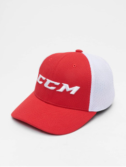 CCM Fitted Cap Team Structured Mesh Flex rot