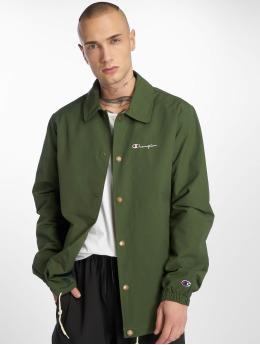 Champion Демисезонная куртка Coach зеленый