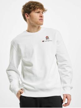 Champion Пуловер Rochester x Super Mario Bros  белый