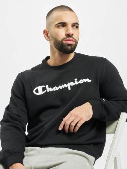 Champion Пуловер Crewneck  черный