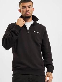 Champion Пуловер Half Zip черный