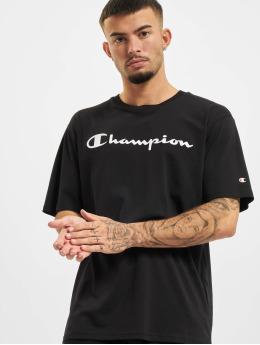 Champion Футболка Logo  черный