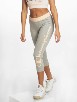 Champion Athletics Leggings/Treggings BigLogo szary