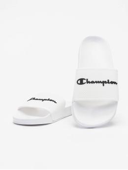 Champion Chanclas / Sandalias Legacy Slide blanco