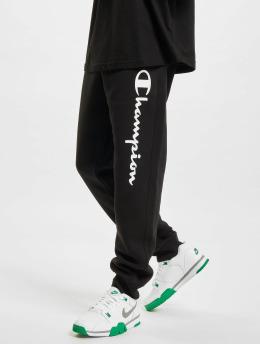 Champion Jogginghose Logo  schwarz
