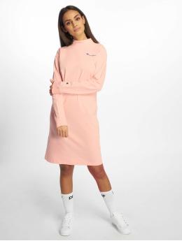Champion Frauen Kleid Logo in pink