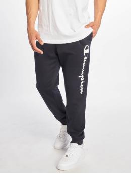 Champion Legacy Спортивные брюки Rib Cuff синий
