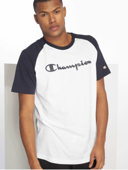 Champion Legacy Camiseta Crewneck blanco