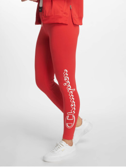 Champion Legacy Leggings/Treggings 7/8 czerwony