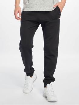 Champion Legacy Spodnie do joggingu Rib Cuff czarny