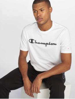 Champion Legacy T-Shirty Crewneck bialy
