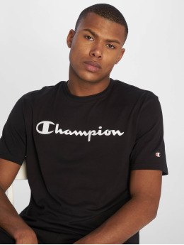 Champion Legacy T-Shirty Crewneck czarny