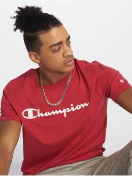 Champion Legacy T-Shirty Crewneck czerwony