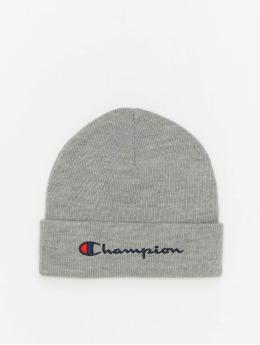 Champion Rochester Beanie Big Logo grå