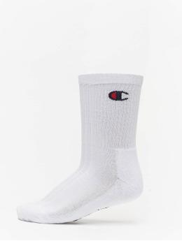 Champion Rochester Ponožky 3P Crew biela